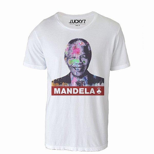Camiseta Lucky Seven - Grafitti Mandela