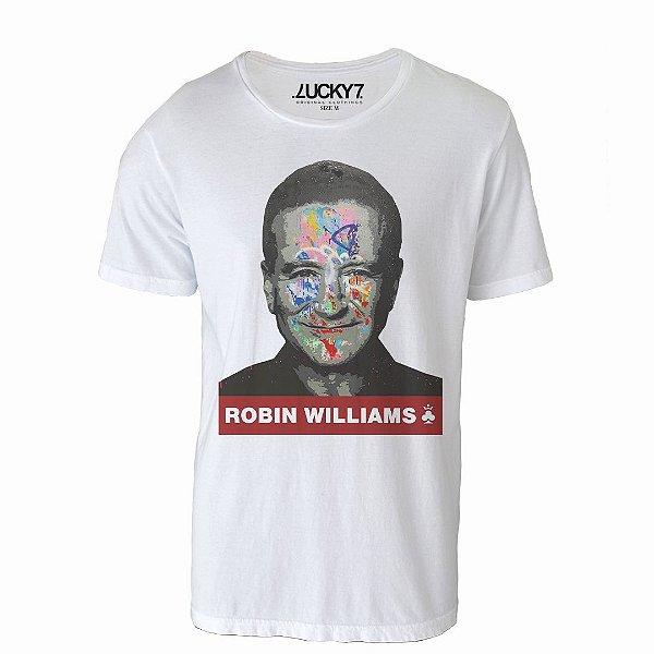 Camiseta Lucky Seven - Grafitti Robin Williams