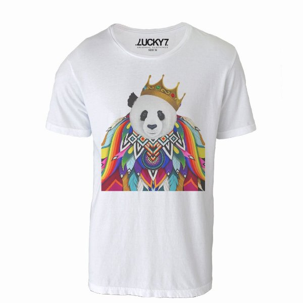 Camiseta Lucky Seven - Pamda King
