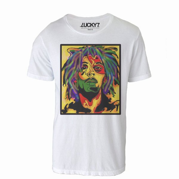 Camiseta Lucky Seven - Bob drawing
