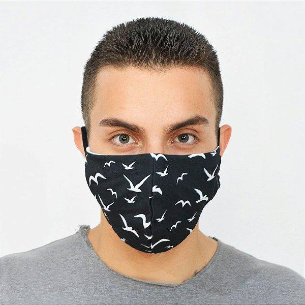 Máscara de Proteção Algodão - Estampa Fly