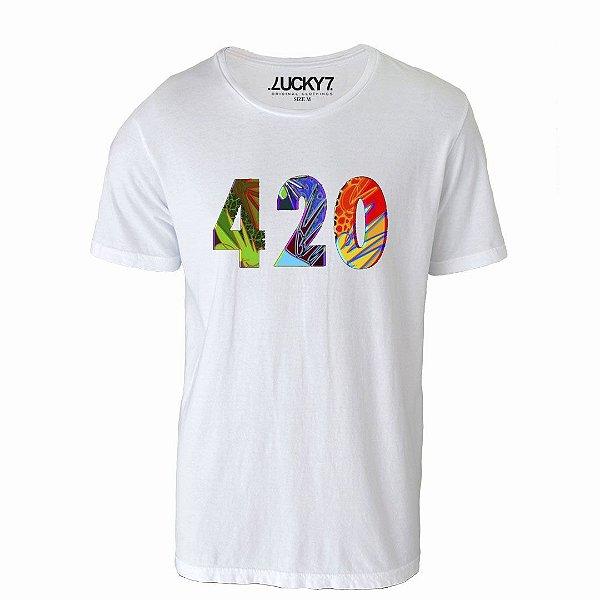 Camiseta Gola Básica: 420