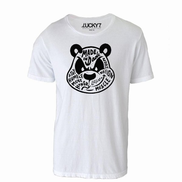 Camiseta Lucky Seven - Mad Panda
