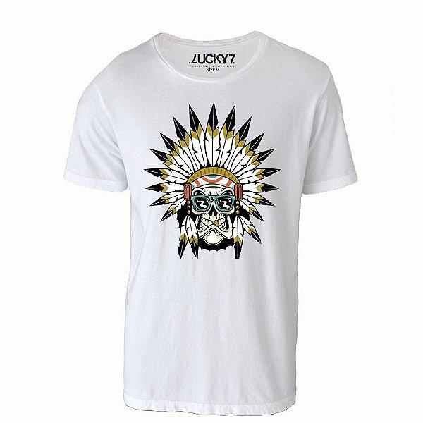 Camiseta Lucky Seven - Skull Shaman