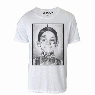Camiseta Gola Básica - Alfalfa LIQUIDAÇÃO