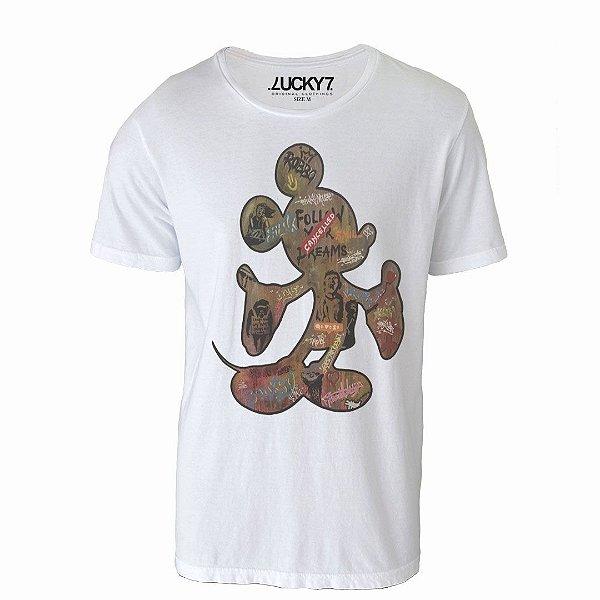 Camiseta Lucky Seven - Mouse Art