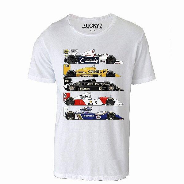 Camiseta Gola Básica - Fórmula 1