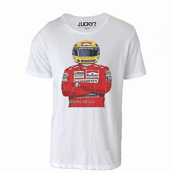 Camiseta Gola Básica - Piloto