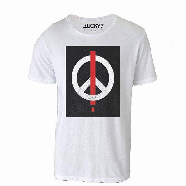 Camiseta Gola Básica - Peace
