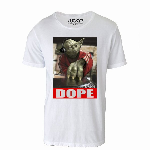Camiseta Gola Básica - Dope