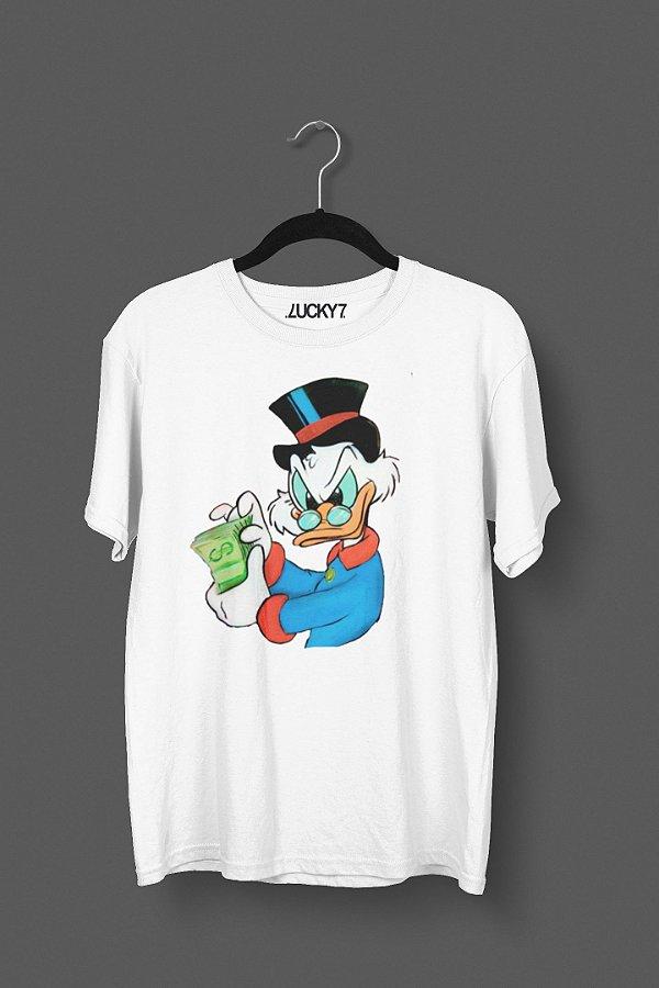 Camiseta Lucky Seven - Tio Patinhas