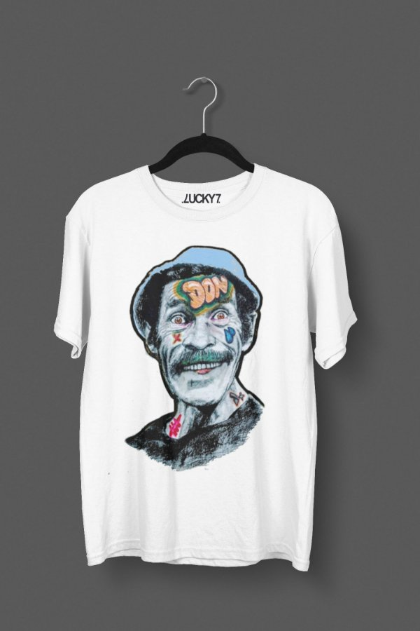 Camiseta Lucky Seven - Seu Madruga Street Art