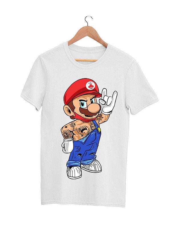 Camiseta Gola Básica - Mario 2020