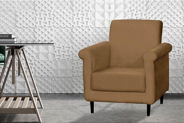 Poltrona Decorativa Betina - Dourado