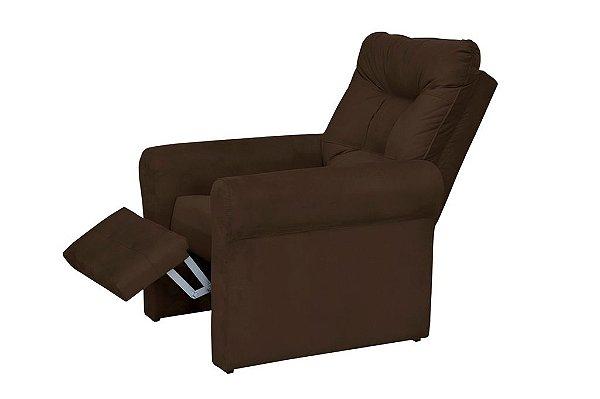 Poltrona do papai reclinável Clio -  Marrom