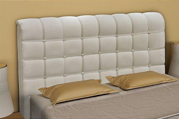 Cabeceira Cama Box Casal 165 cm Atena - Bege pena