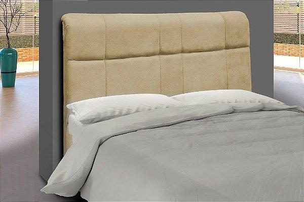 Cabeceira para cama Casal 140 cm Eros - Dourado