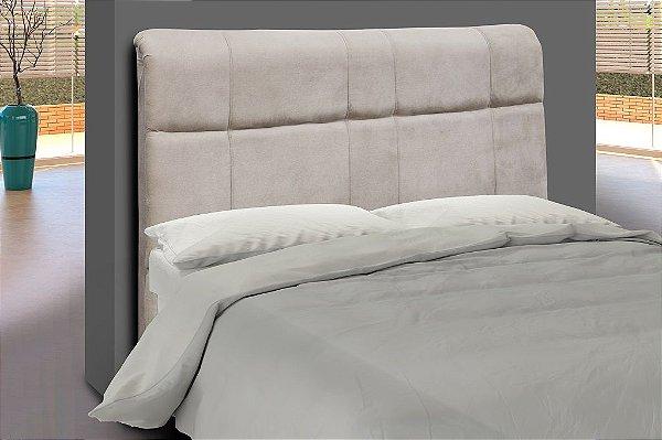 Cabeceira para cama Casal 140 cm Eros - Bege