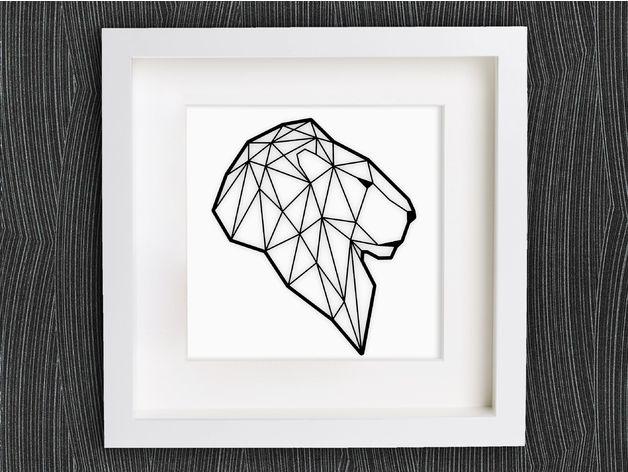 Leão Geométrico