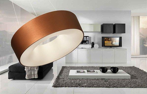 Luminária Pendente Sushi ø53cm ST20205 CE CABO 5m - New Line - Cobre Escovado LED INCLUSO