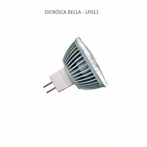 Lâmpada Led Dicróica Mr16 Gu5.3 4w 12v 3000k LP011 - Bella