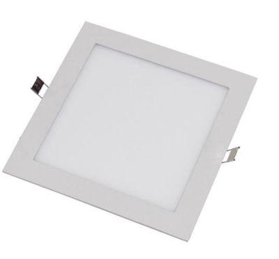Painel Quadrado de Embutir 3000K - Branco Quente  LED
