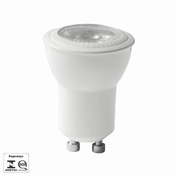 Mini Dicróica LED MR11 GU10 4W 3000K - Bella  LP025C