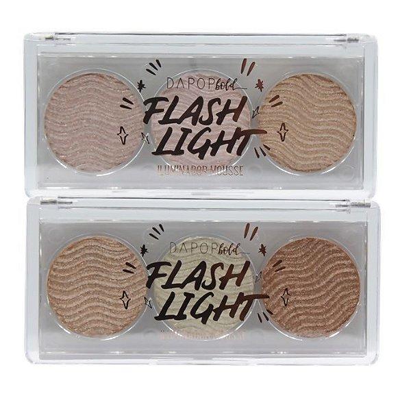 Iluminador Mousse Flash Light - Dapop