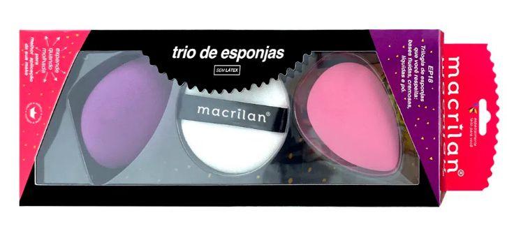 Trio de Esponjas - EP18 - Macrilan