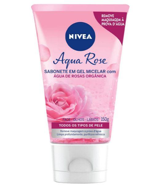 Sabonete Gel Facial Micellair Água de Rosas - Nivea