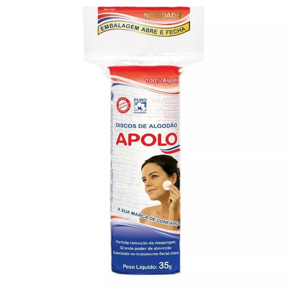Disco de Algodão 35g - Apolo