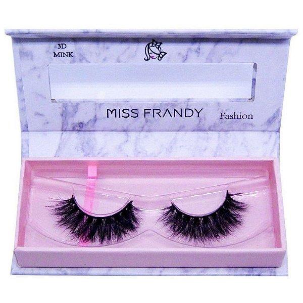 Cílios Postiços Mink 6D - C18-0404 - Miss Frandy