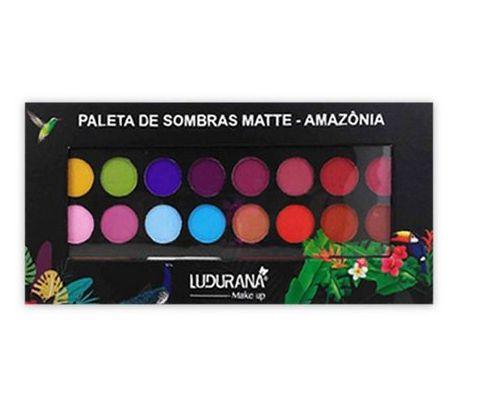 Paleta de Sombras 24 Cores - Amazônia - M00039 - Ludurana