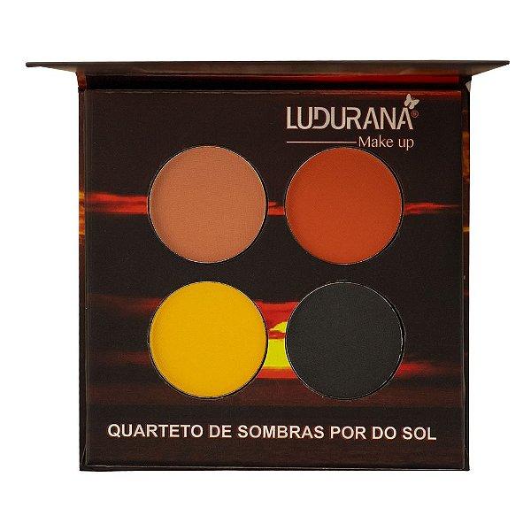 Quarteto de Sombras Por do Sol - M00072 - Ludurana