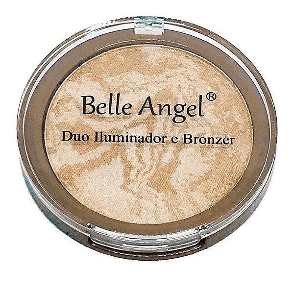 Duo Iluminador e Bronzer - B025 - Belle Angel
