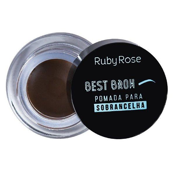 Best Brow - Pomada Para Sobrancelha Medium - HB-8400 - Ruby Rose