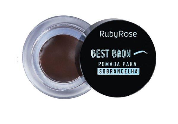 Best Brow - Pomada Para Sobrancelha Dark - HB-8400 - Ruby Rose