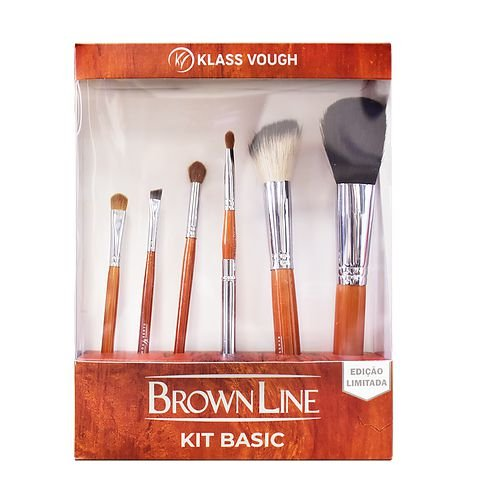 Kit de Pincéis Brown Line Basic - Klass Vough