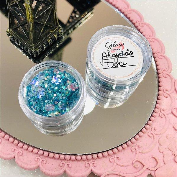Glitter Algodão Doce - Glow Makes