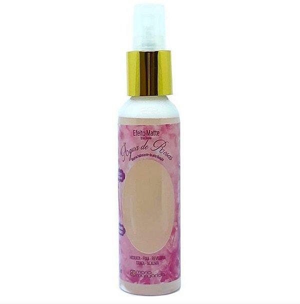 Bruma Fixadora Hidratante Agua De Rosas Efeito Matte - Maria Margarida