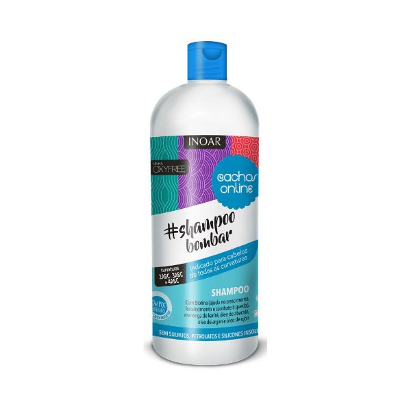 Shampoo Bombar Inoar Cachos Online 1000ml
