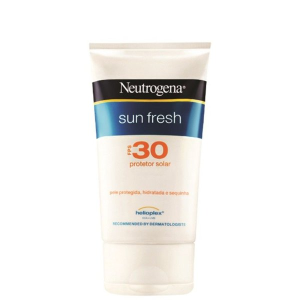 Protetor Solar Neutrogena Sun Fresh 120ml FPS 30