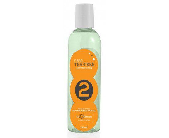 Loção De Limpeza Facial - Nano Tea Tree 240 Ml