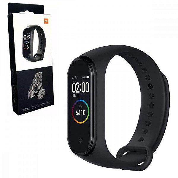 Smartwatch Xiaomi Mi Band 4 para Atividades Fisicas com Bluetooth - Preto