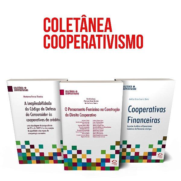 Kit - 3 livros da Coletânea Cooperativismo