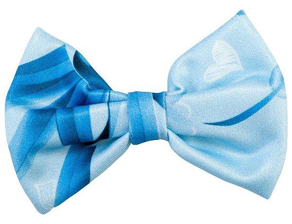 Bico de Pato Infantil Fundo do Mar Azul