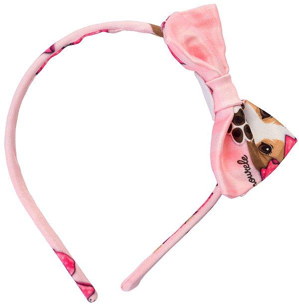 Tiara Beagle Rosa