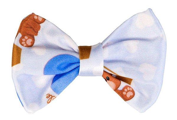Bico de Pato Infantil Urso Azul