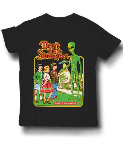 Camiseta Não Fale com Estranhos