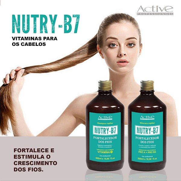 NUTRY B7 KIT SHAMPOO E MASCARA 500 GRS